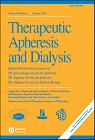Therapeutic Apheresis and Dialysis - Cover